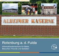Informationsbroschüre der Alheimer Kaserne Rotenburg a. d. Fulda