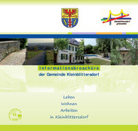 Bürgerinformationsbroschüre der Gemeinde Kleinblittersdorf