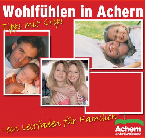 Wohlfühlen in Achern - ein Leitfaden für Familien