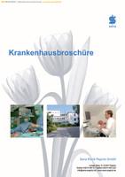 Krankenhausbroschüre - Sana Klinik Pegnitz GmbH 2010