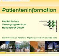 Patientenbroschüre der Lungenklinik Ballenstedt