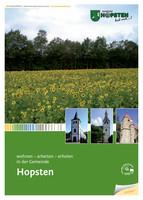 Bürger-Informationsbroschüre der Gemeinde Hopsten / Einleger