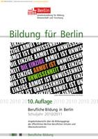 Berufliche Bildung für Berlin 2010/11