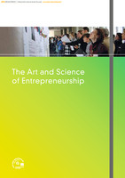 The Art and Science of Entrepreneurship