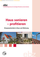 """Ratgeber """"Sanieren und Energiesparen"""" des Energie- und Beratungszentrums Pforzheim/Enzkreis"""