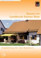 """Ratgeber """"Bauen und Sanieren im Landkreis Donau-Ries"""