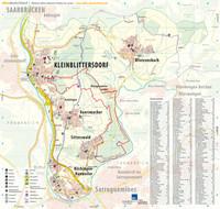 Ortsplan der Gemeine Kleinblittersdorf