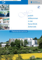 Patientenbroschüre Sana-Klinik Zollernalb