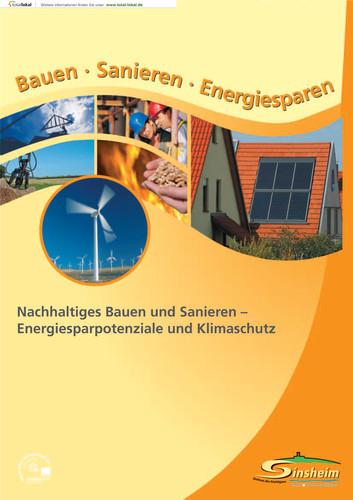 """Ratgeber """"Sanieren und Energiesparen"""" der Stadt Sinsheim"""