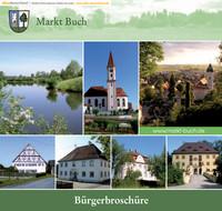 Bürger-Informationsbroschüre für den Markt Buch