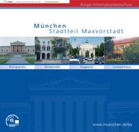 Die offizielle Informationsbroschüre für den Stadtbezirk Maxvorstadt
