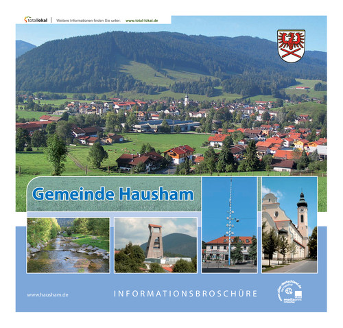 Bürgerinfomationsbroschüre der Gemeinde Hausham