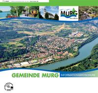 Infomatiomsbroschüre der Gemeinde Murg