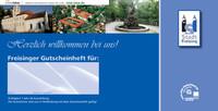 Gutscheinheft für die Stadt Freising