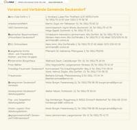 Einleger der Informationsbroschüre der Gemeinde Seukendorf