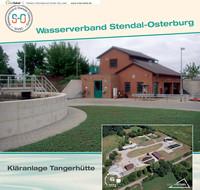 Einweihungsbroschüre des Wasserverbandes Stendal-Osterburg