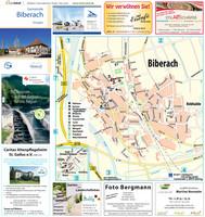 Ortsplan der Gemeinde Biberach