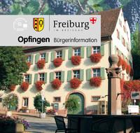Bürger-Informationsbroschüre Freiburg-Opfingen