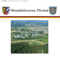 Informationsbroschüre der Oberpfalzkaserne Pfreimd