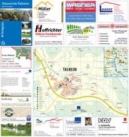 Ortsplan für die Gemeinde Talheim