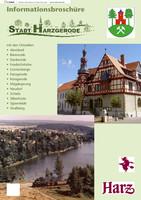Bürgerinformationsbroschüre der Stadt Harzgerode