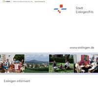 Bürger-Informationsbroschüre der Stadt Eislingen/Fils