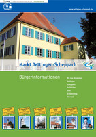 Bürgerinformationsbroschüre  Markt Jettingen-Scheppach