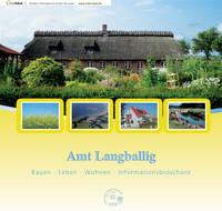 Amt Langballig; Bauen, Leben, Wohnen, Infobroschüre