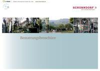 Bestattungsbroschüre Schorndorf