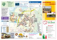 Ortsplan für den Stadtteil Kalsruhe Neureut