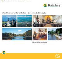 Bürgerinformationsbroschüre der Stadt Lindenberg im Allgäu