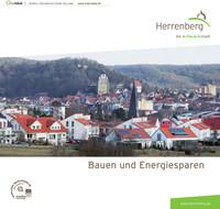 Informationsbroschüre Bauen und Energiesparen