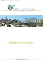 Patienteninformationsbroschüre Ev. Diakonissenkrankenhaus Leipzig