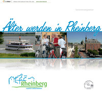 Seniorenbroschüre - Älter werden in Rheinber