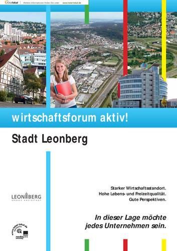 Wirtschaftsforum aktiv! Stadt Leonberg