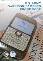 U.S. Army - Garrison Bamberg Phone Book