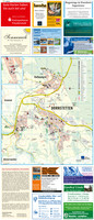 Dornstetten mit Aach und Hallwangen - Stadtplan