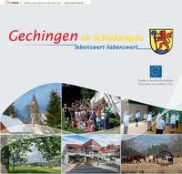 Bürgerinformationsbroschüre Gechingen im Schlehengau