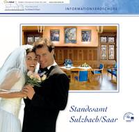 Standesamt Sulzbach/Saar Informationsbroschüre