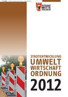 Stadtentwicklung/Umwelt/Wirtschaft/Ordnung Berlin-Mitte