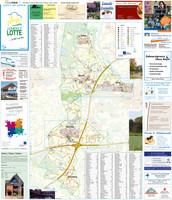 Ortsplan der Gemeinde Lotte