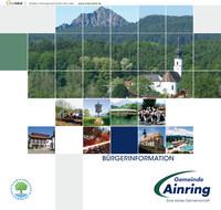 Die Informationsbroschüre der Gemeinde Ainrin