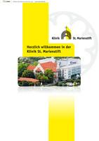 Patientenbroschüre Klinik St. Marienstift