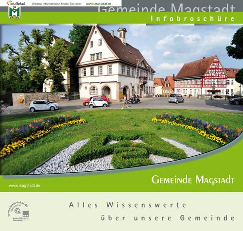 Die offizielle Bürgerinformationsbroschüre Magstadt