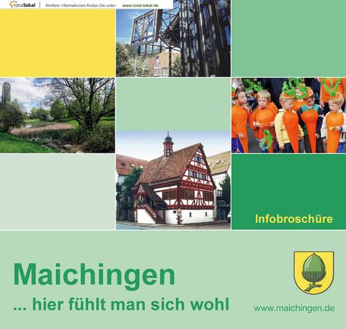 Bürgerinformationsbroschüre Maichingen