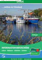 Einleger zur Bürgerinformationsbroschüre der Gemeinde Sande