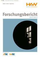 Forschungsbericht der Hochschule Amberg-Weiden 2012/2013
