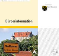 Bürgerinformationsbroschüre der Gemeinde Warthausen