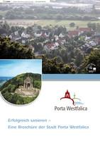 Erfolgreich sanieren - Eine Broschüre der Stadt Porta Westfalica