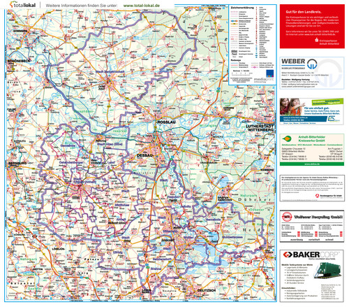 Plan Landkreis Anhalt-Bitterfeld